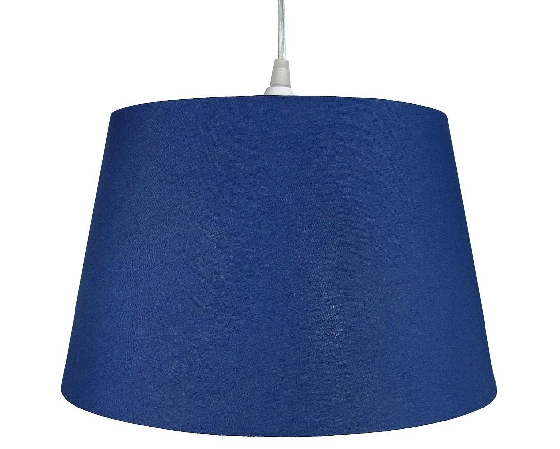 10 inch Drum Shade - Navy Blue - Loxton Lighting