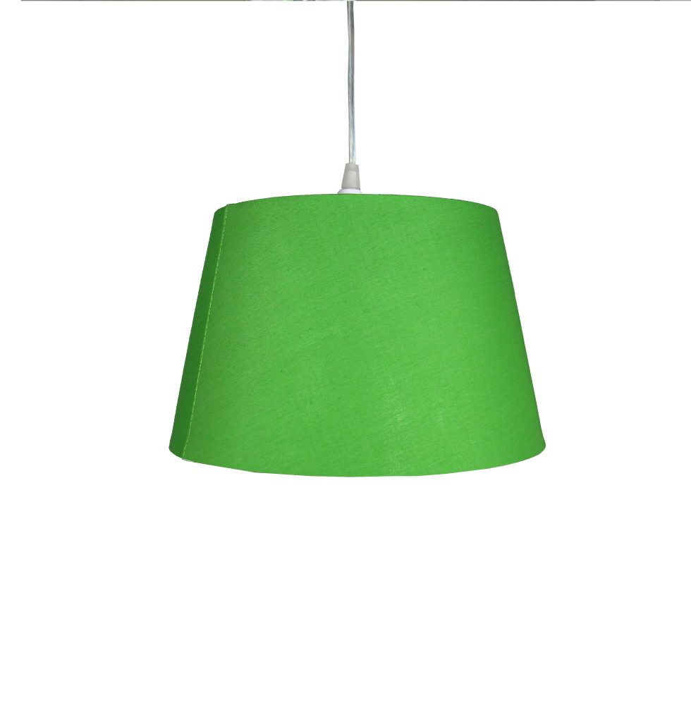 12 inch Drum Shade - Olive Green - Loxton Lighting