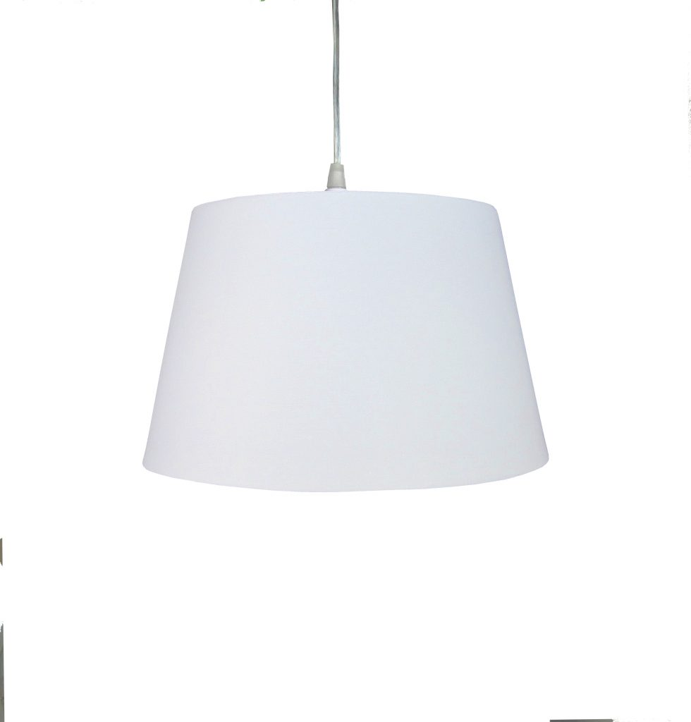 10 inch Drum Shade - White - Loxton Lighting